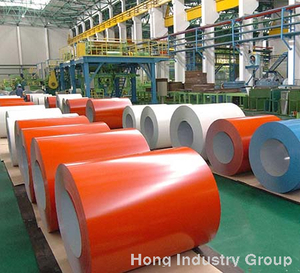 PPGI & PPGL Coil/Sheet, Prepainted galvanized steel & prepainted galvalume steel, Color coated steel
