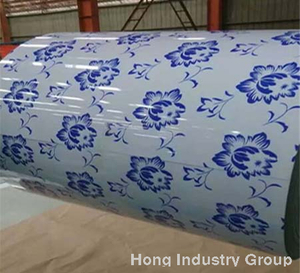 Printed Coated Steel Coil